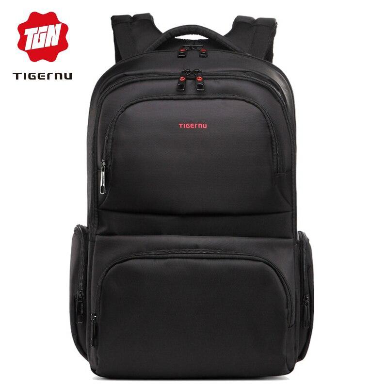 Tigernu multifonctionnel 17 ''ordinateur portable hommes sacs à dos voyage Nylon Anti-vol étanche grande capacité sac à dos mochila anti roubo