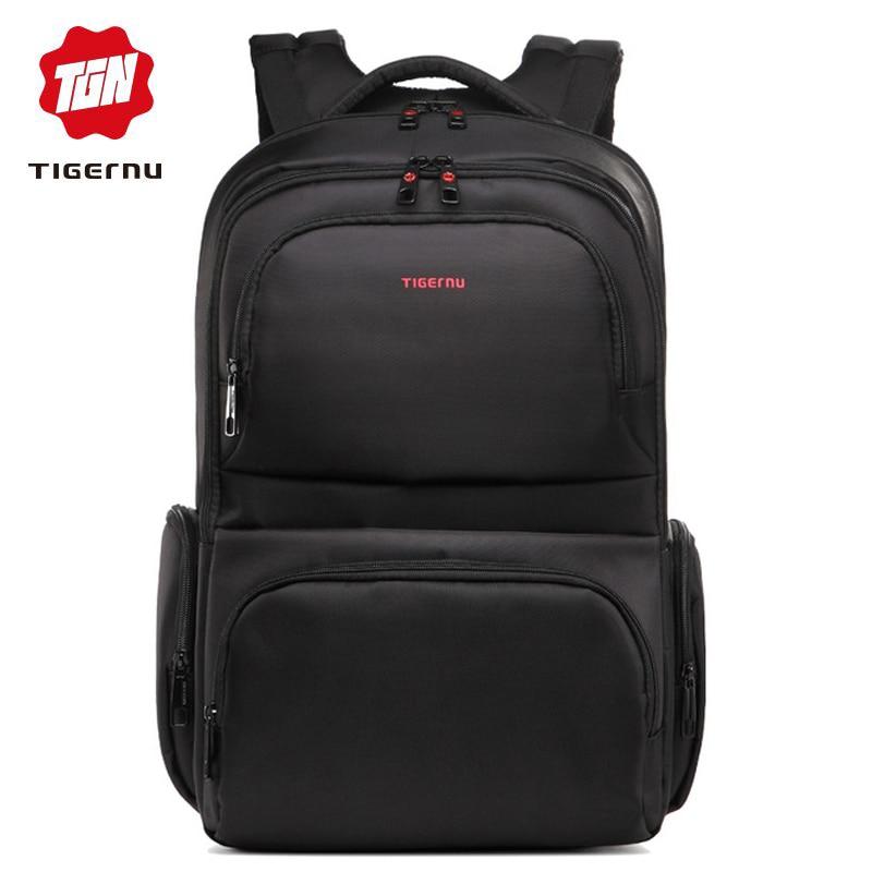 Bagaj ve Çantalar'ten Sırt Çantaları'de Tigernu çok fonksiyonlu 17 ''dizüstü bilgisayar erkek sırt çantaları seyahat naylon Anti hırsızlık su geçirmez büyük kapasiteli sırt çantası mochila anti roubo'da  Grup 1