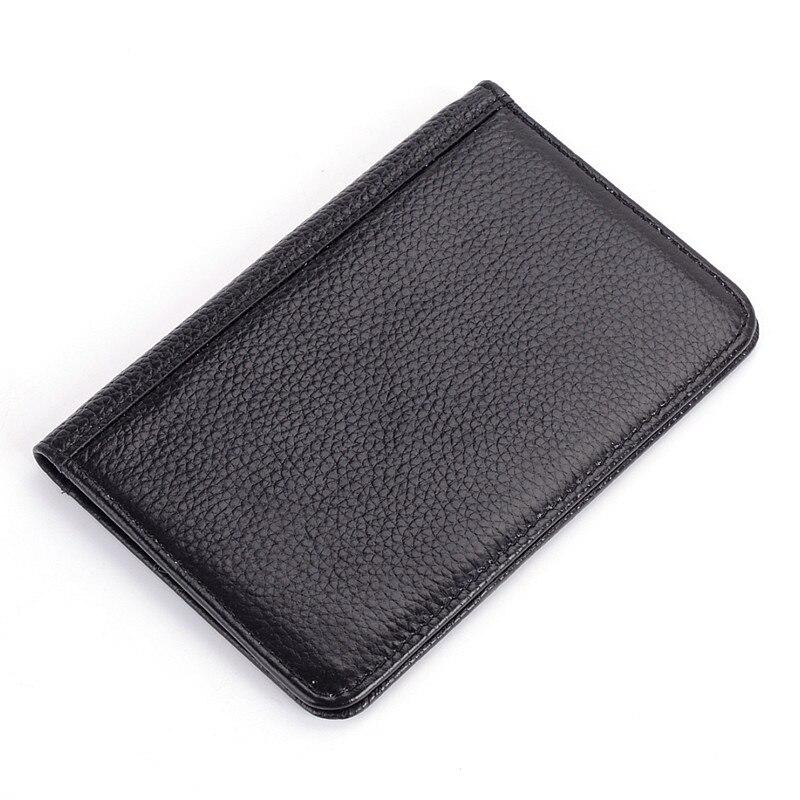 Portefeuille Spuer Voyage Cuir R6 Carte Noir Protection Couverture Titulaire Mince Passeport En Rfid Cas Véritable lot 10 Pcs De Hommes La xZvzXfwXqn