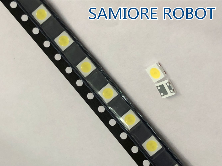 Sincere 170pcs/lot 1w-2w Smd Led Kit 3v/6v 2835/3030/2828/3535/5630/7020/7030/4020/4014/7032 Cold White For Tv Backlight Beads Rich And Magnificent Back To Search Resultslights & Lighting
