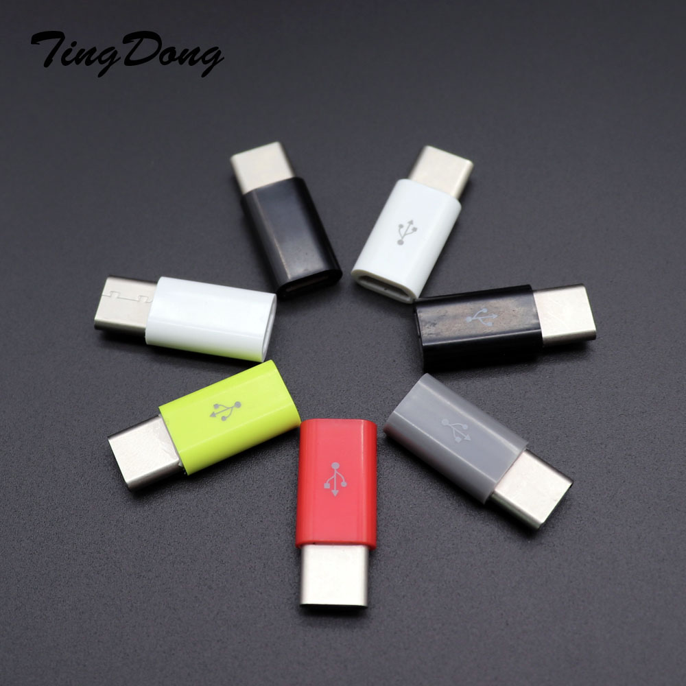 Type-c Otg Adapter Micro Usb To Type C Charger Connectors For Samsung Galaxy S8 S9 Plus Note 8 9 Leeco Typec To Usb-c Usbc Cable