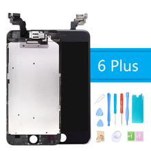 LCD Display for iPhone 6 Plus Touch Screen Replacement for iPhone 6 Plus Full Assembly LCD Digitizer Screen With Camare  + Tools стоимость