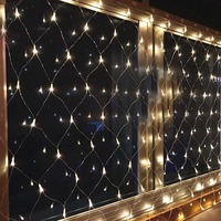 Mini star Net Led String light 200led 3*2M Mesh Fairy Lights Christmas Party Wedding Decor 220V with EU plug and Controler KQ