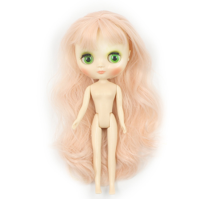 Factory Middie Blythe Doll 1/8 20cm Long Hair Free Gift