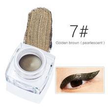 Brand 12 colors Waterproof Eyeliner Gel Makeup Cosmetic Gel Eye Liner With Brush 24 Hours Long-lasting For Women Y02
