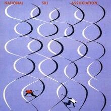 Póster de viaje de Deportes de esquí Vintage St Anton 1973 pinturas clásicas en lienzo carteles de pared pegatinas decoración del hogar regalo