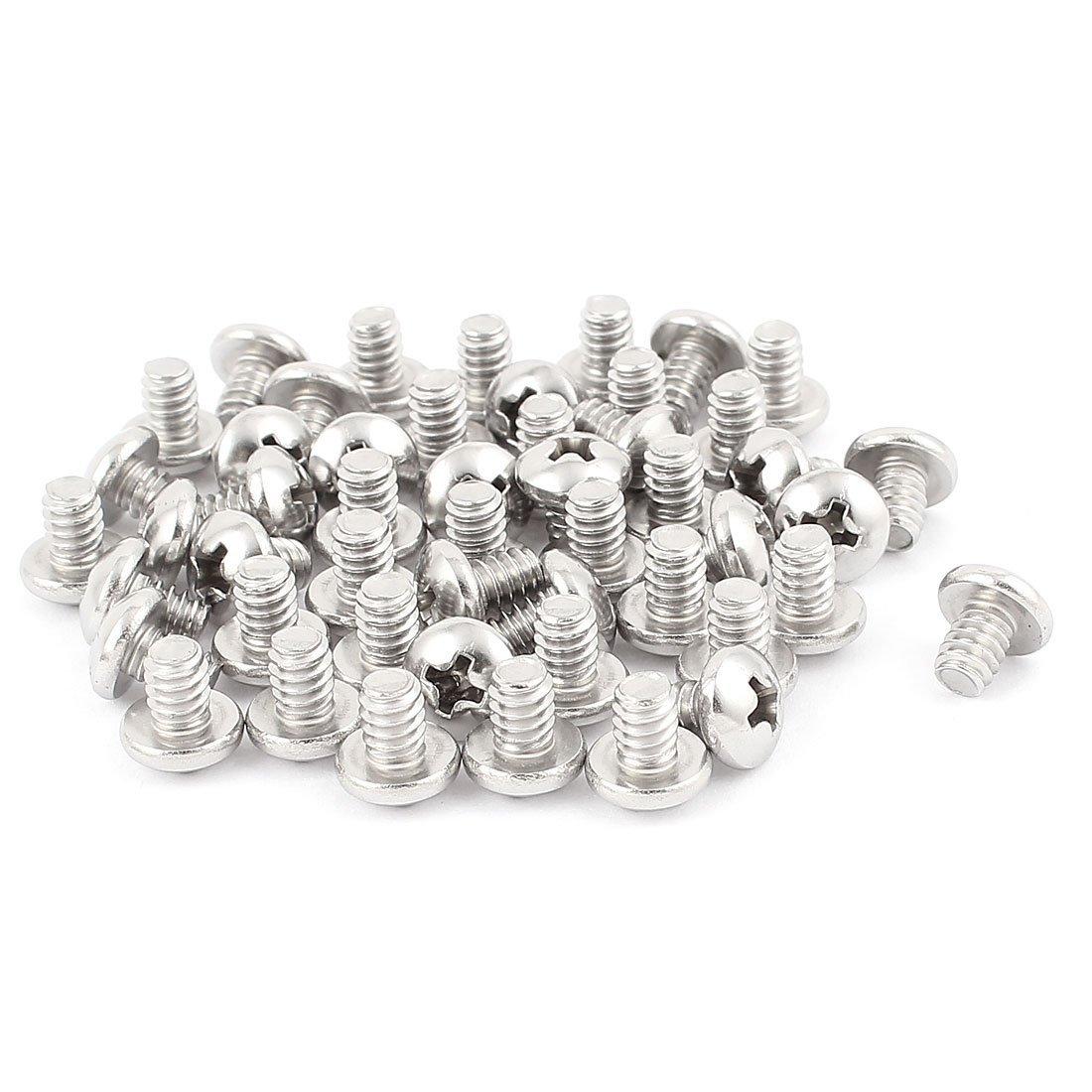 #10-24 x 1/4 Inch Phillips Truss Head Machine Screws Fasteners 50pcs amt9518 10 4 inch