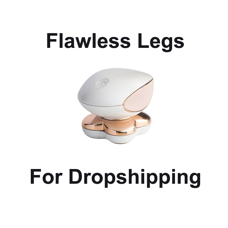 FLAWLESS LEGS Rechargeable Epilator women Body Hair removal device Dropshipping Small Air Conditioning Appliances Fans