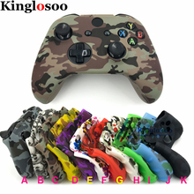 Soft Silicone Skin Sleeve Beschermhoes Rubber Cover Voor Xbox One Slanke X S Controller