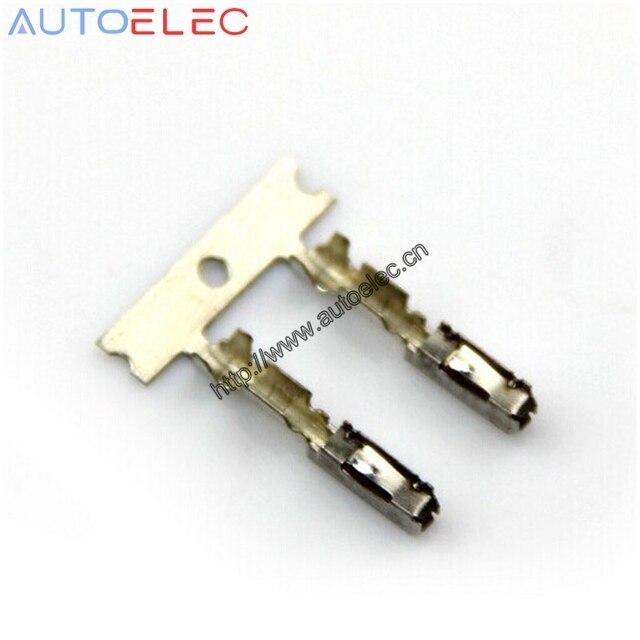 Vw ecu terminali pin otomotiv konnektör fiş MQS Kabel 000 979 009 E cruise 963715-1 N 907 647 01 için Audi VW Skoda AUX anahtarı