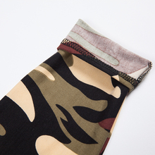 Fitness Camouflage Print Leggings