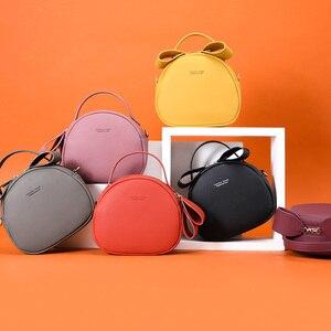 Image 5 - WEICHENรอบกระเป๋าถือผู้หญิงเรขาคณิตสุภาพสตรีไหล่กระเป๋าหนังผู้หญิงCrossbody Messengerกระเป๋าSac Bolsa HOT