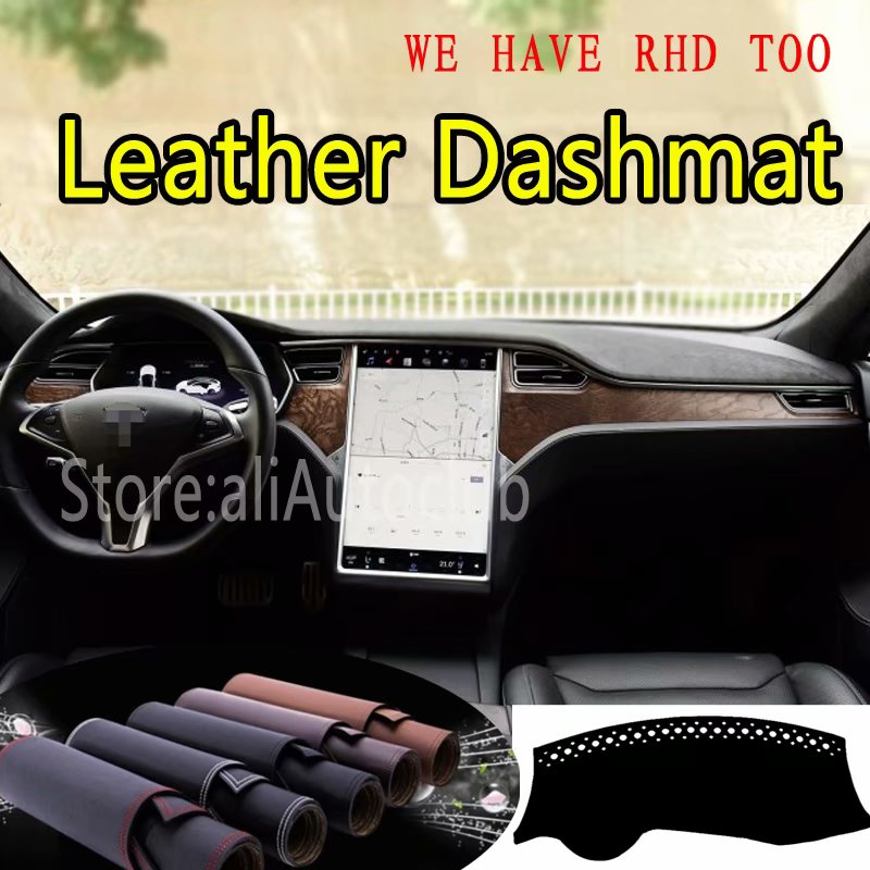 For Tesla Model X S 2015 2016 2017 2018 2019 Leather