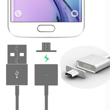 Fast Charge Magnetic Micro USB Charging Data Sync Cable Magnetic Adapter Charger for Samsung Galaxy For LG HTC Huawei Android