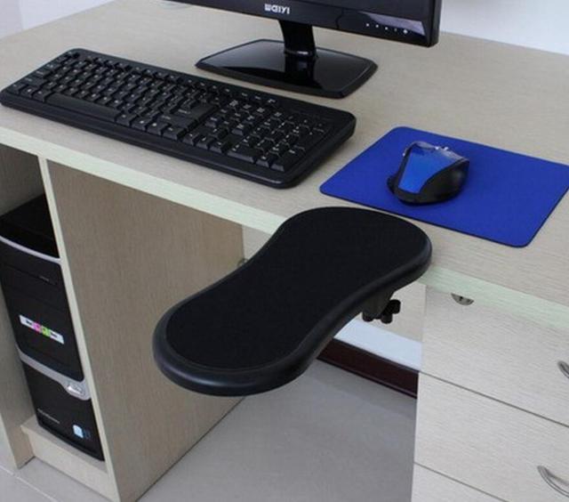 New Universal 45 cm Mesa & Cadeira do Computador Braço Braço Resto Suporte de Pulso Resto Suporte Suporte S31D5