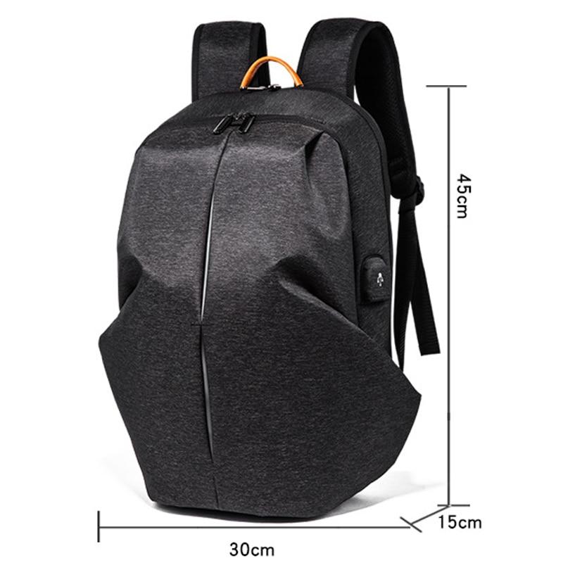 Anti voleur USB sac à dos sac à dos pour ordinateur portable pour femmes hommes école sac à dos sac pour adolescents garçons mâle voyage Mochila Feminina - 2