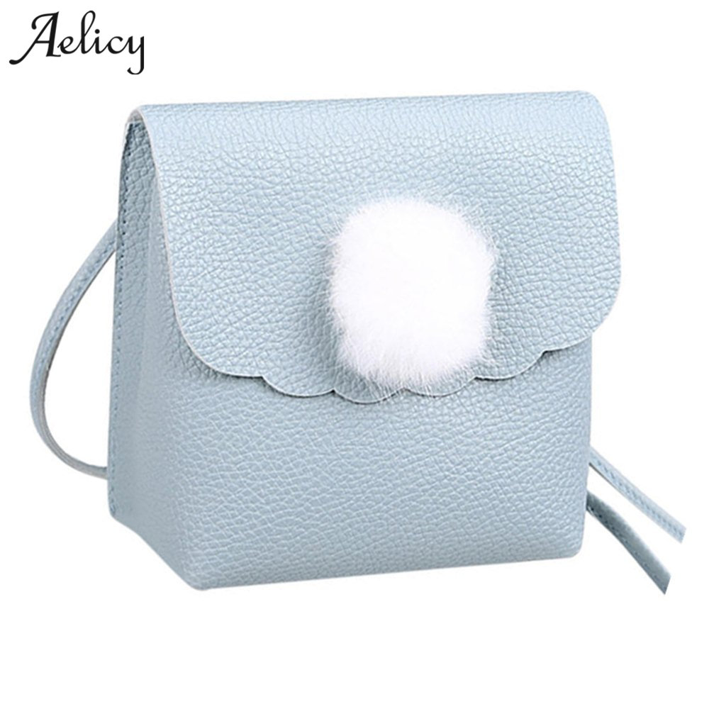 Aelicy Leather Crossbody Bags Mini Casual Candy Color Messenger Bag For Girls Flap Messenger Shoulder Bag for Women Leather