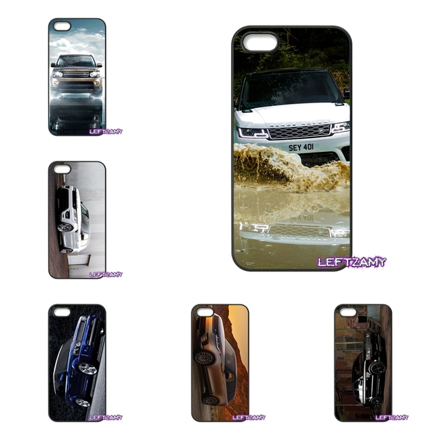 reputable site 72d0f 9766c Range Rover Evoque Fashion Hard Phone Case Cover For iPhone 4 4S 5 5C SE 6  6S 7 8 Plus X 4.7 5.5 iPod Touch 4 5 6