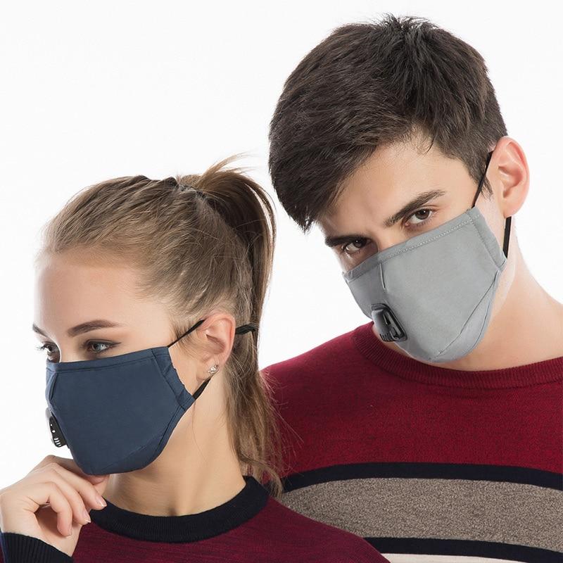 1 Pcs Mund Gesicht Maske Baumwolle Staubdicht Atmungs Pm2.5 Für Outdoor Radfahren Winter Wml99 GroßE Auswahl;