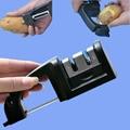 Multifunction two stages professional kitchen knife sharpener  sharpening stone household knife sharpener kitchen peel tools