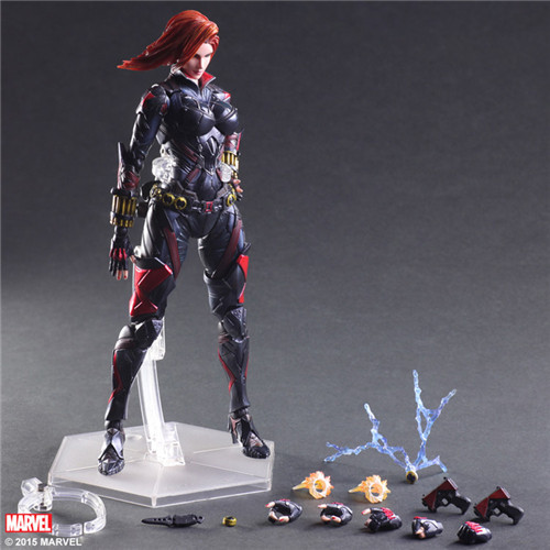 The avengers alliance 2 black widow hand model,Children model toys,Robot. Children gifts, Christmas gifts 32cm 2017 new avengers toys movie avengers alliance captain america shield cosplay costume led flashing sound kids toys gifts