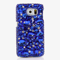 Women 3D Blue Rhinestone Diamond Case For Letv LeEco Le 2 X520 X620 Le2 Pro X25