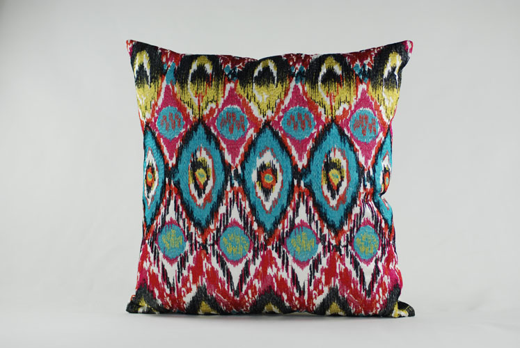 2019 Rams Embroidered Decorative Geometric Pillow Cushion Home Decor Embroidery
