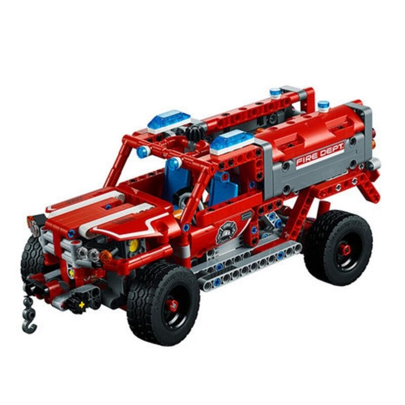 20079 New 575Pcs Technic Series The First Responder Set 42075 Building Blocks Bricks Educational Toys For Kids As Gifts