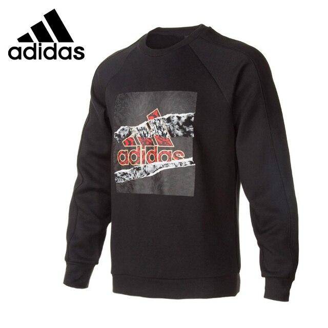 Оригинальный Новое поступление 2018 Adidas GFX экипажа CNY Для мужчин пуловер Майки Спортивная
