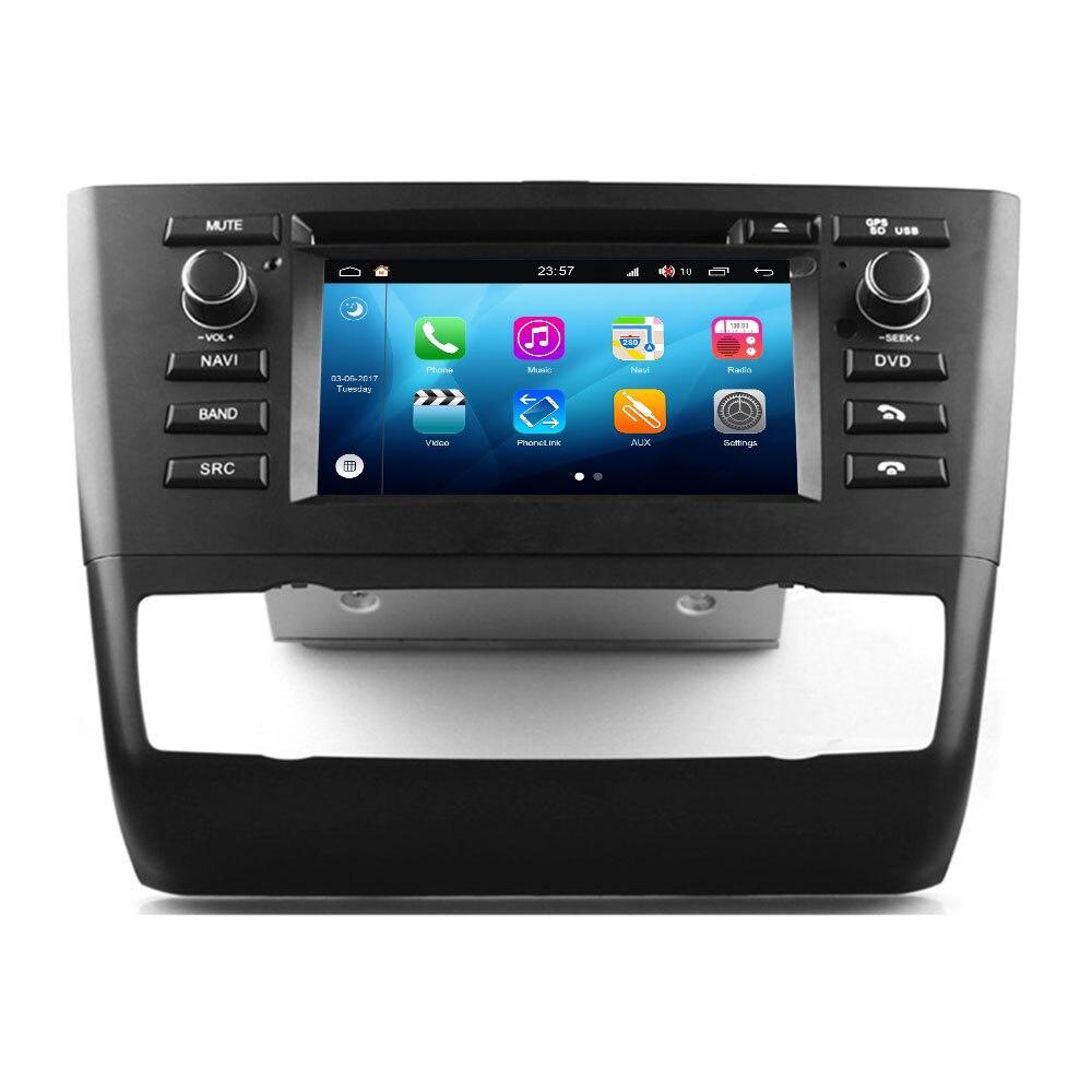 Système multimédia RoverOne Android 8.0 pour BMW E81 E82 E83 E87 E88 116i 118i lecteur Radio stéréo DVD Navigation multimédia
