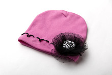 Cuties New Spring Cotton Baby Hat Flower Toddler Infant Kids Girl Caps Hot Pink Cute Baby Girls Beanies Accessories