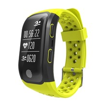 S908 GPS Sports Smartband IP68 Waterproof Smart Bracelet Heart Rate Monitor Fitness Tracker Bluetooth 4.2 for Android IOS Phone
