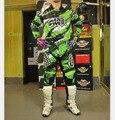 Мотоцикл Motobiker бездорожью мотокросс гоночный костюм футболки + брюки MX MTB ОТВЕТ бренда дизайнер майка брюки один набор бесплатно корабль