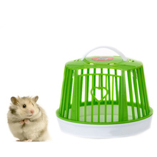 Portable Hamster Cage Chinchilla Pet Box Nest Completely Breathable Small House Outdoors Carrying Cages