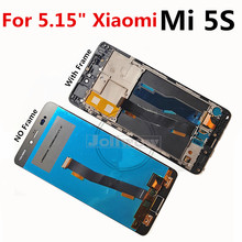 New LCD Display 5.15 For Xiaomi 5S MI 5s Mi5s M5s Touch Screen Digitizer Assembly for MI5S Frame