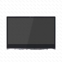 14 LED LCD Display Touch Screen Replacement Panel With Bezel For For Lenovo Yoga 530-14ARR 81H9006NGE 81H9000VGE 81H9003DGE n140hce en1 rev c2 fhd led lcd screen ips display panel replacement for lenovo thinkpad t480