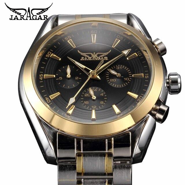 Heren Horloges Automatische Roestvrijstalen Horloge Luxe Top Brand Mannen Business Polshorloge Relojes Hombre Kalender Datum Klok