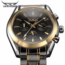 Mens שעון אוטומטי שעוני יוקרה שעון פלדה אל חלד למעלה מותג גברים עסקי שעוני יד Relojes Hombre שעון תאריך לוח שנה
