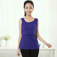 wholesale Fashion Summer Maternity Tank Top Feeding Camisole Nursing Vest Tanks Clothes