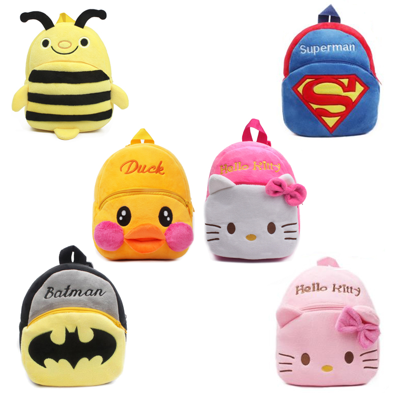 Cute baby school bag cartoon mini plush backpack for kindergarten kids boys  girls gift student Children lovely schoolbag-in School Bags from Luggage    Bags ... adfdf8615c26a