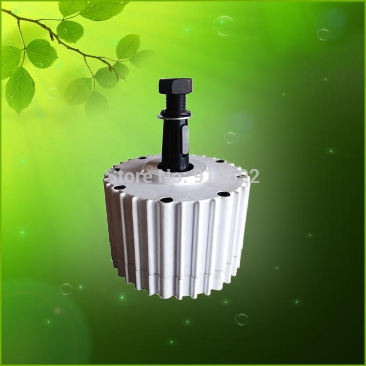 1kw générateur alternateur 48 v 96 v, générateur à bas régime avec alternateur sans brosse haute efficacité, générateurs à aimant permanent