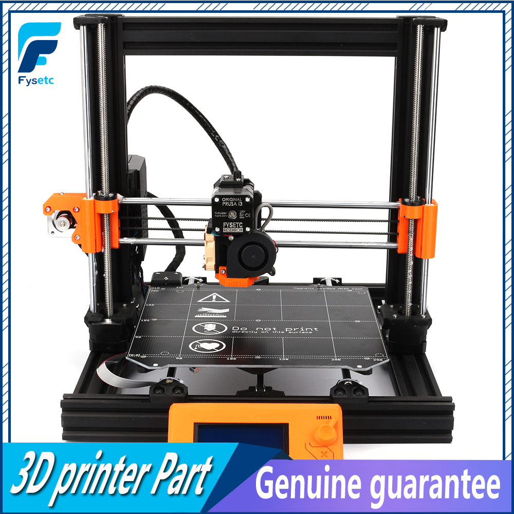 Conjunto DIY Clone 1 Prusa i3 Impressora Atualização Completa 2040 V-SLOT MK3 Perfis De Alumínio Magnético Heatedbed Motores Kit Completo