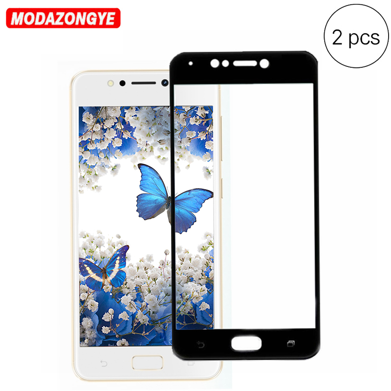 For Asus ZenFone 4 Max ZC520KL Screen Protector Film 5.2 Full Cover Tempered Glass For ZenFone 4 Max <font><b>ZC520</b></font> <font><b>KL</b></font> ZC 520KL X00ED image