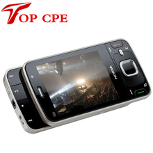N96 восстановленное оригинальный мобильный телефон nokia n96 16 гб 3 г wi-fi gps 5mp камера быстрая бесплатная доставка