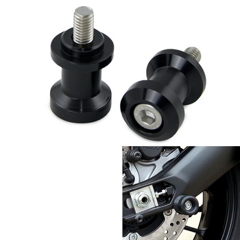 Motorcycle 6mm Swingarm Spools Slider Screws For Aprilia RS50 RS250 RSV4 Mille Shiver 750 Dorsoduro 1000 Tuono image
