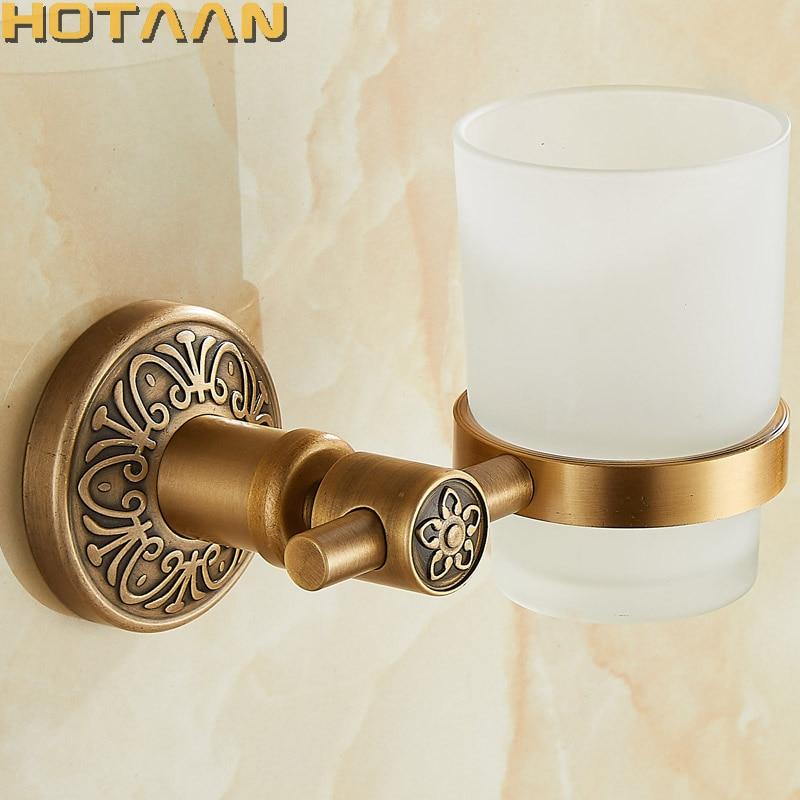 New Arrival Aluminium Single Tumbler Holder Cup & Tumbler Holders Toothbrush Holder Bathroom Accessories Banheiro YT-14297