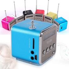 High quality Portable Micro USB Mini Stereo Super Bass Speaker Music MP3/4 FM Rad