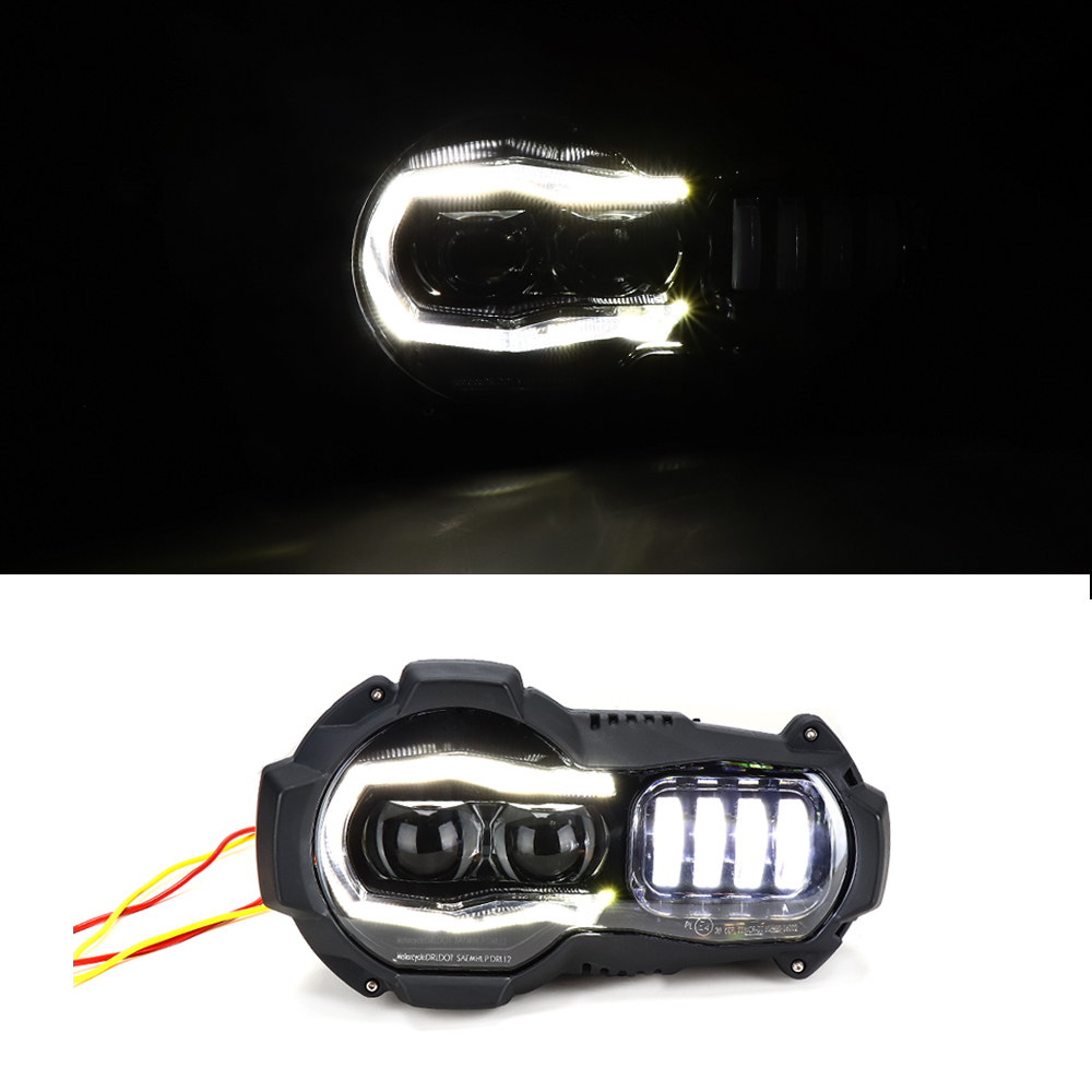 Front LED Head Lights Headlight For BMW R1200GS 2004 2012 R 1200GS ADV Adventure 2005 2013 Motorcycle Headlamp accessories