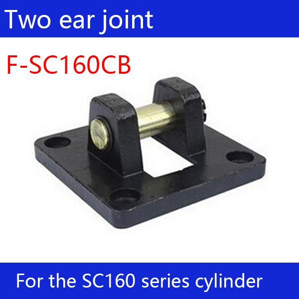 ФОТО F-SC160CB Free shipping 1 pcs Free shipping SC160 standard cylinder double ear connector F-SC160CB