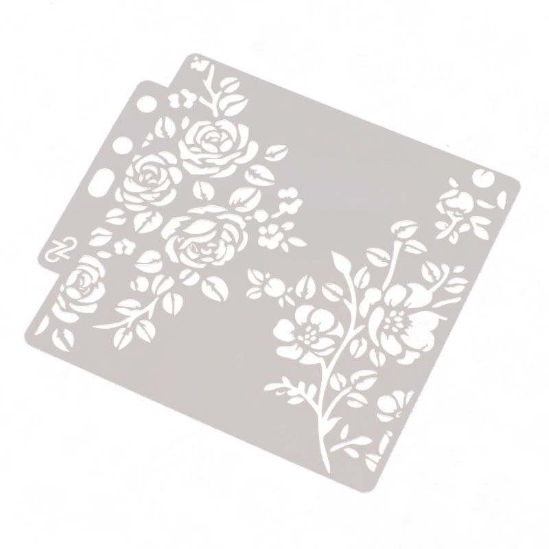 Useful Flowers Trees Leaves Metal Cutting Dies For Diy Scrapbooking Plant Stamp Steel Embossing Craft Greeting Cards New 2019 To Ensure Smooth Transmission Electronic Components & Supplies